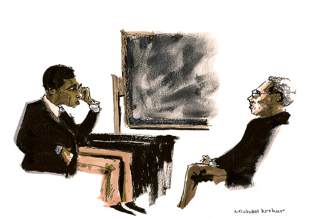 Michael Benjamin Washington and James A Watson In Rehearsal on Flickr.