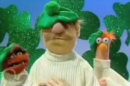 comfortspringstation :       Muppets version of Danny Boy reaches over 10 million views!     This rendition of the classic Danny Boy is sung by Animal, Beaker, and the Swedish Chef performing as the Leprechaun brothers. Their aran jumpers are reminiscent of the Clancy brothers ;-)