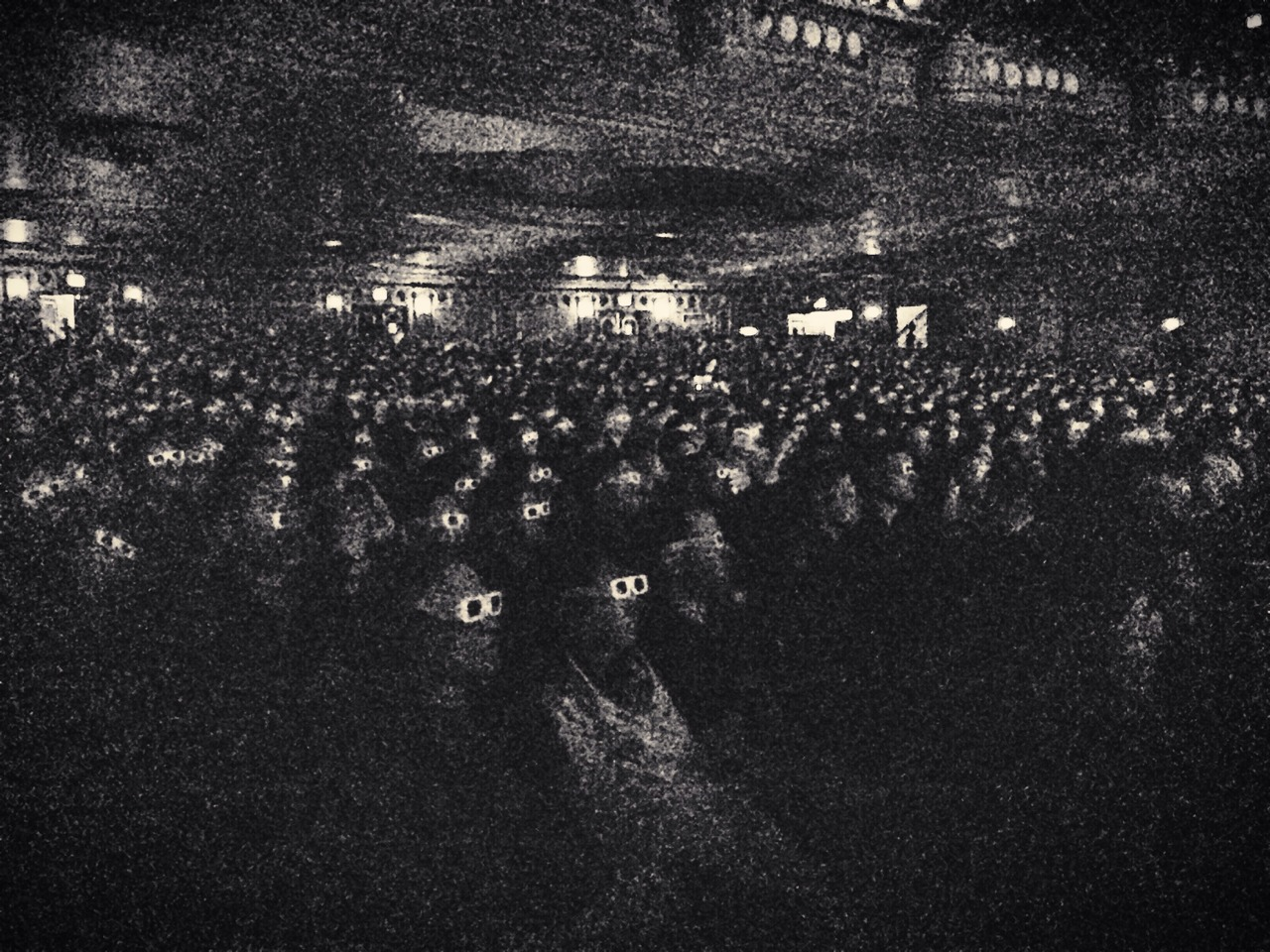 berniedechant: Kraftwerk United Palace Theater NYC