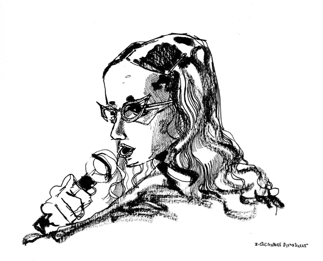 joespub: Flashback: Janeane Garofalo at Joe's Pub by inklines (Michael Arthur).