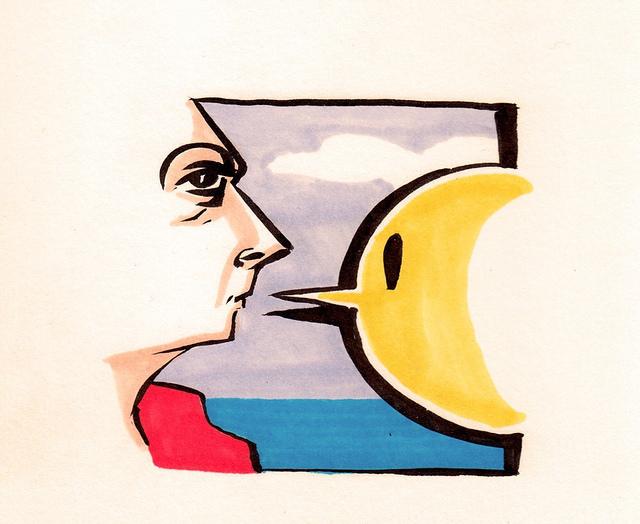 Sketchbook on Flickr. Stop me if you've heard this one: Two Cartoons Meet In A Sketchbook …