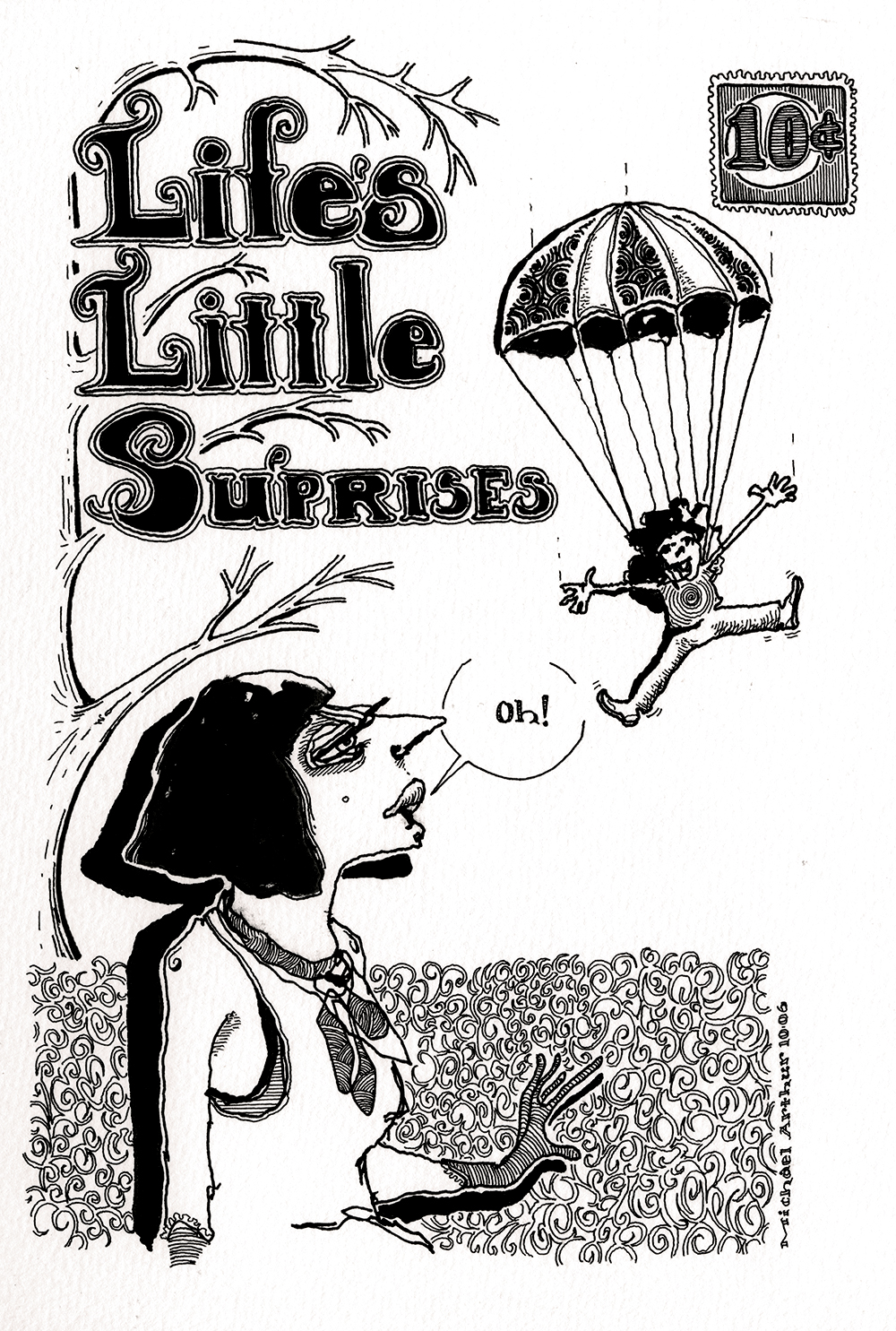 Life's Little Surprises. (from an old sketchbook of mine)