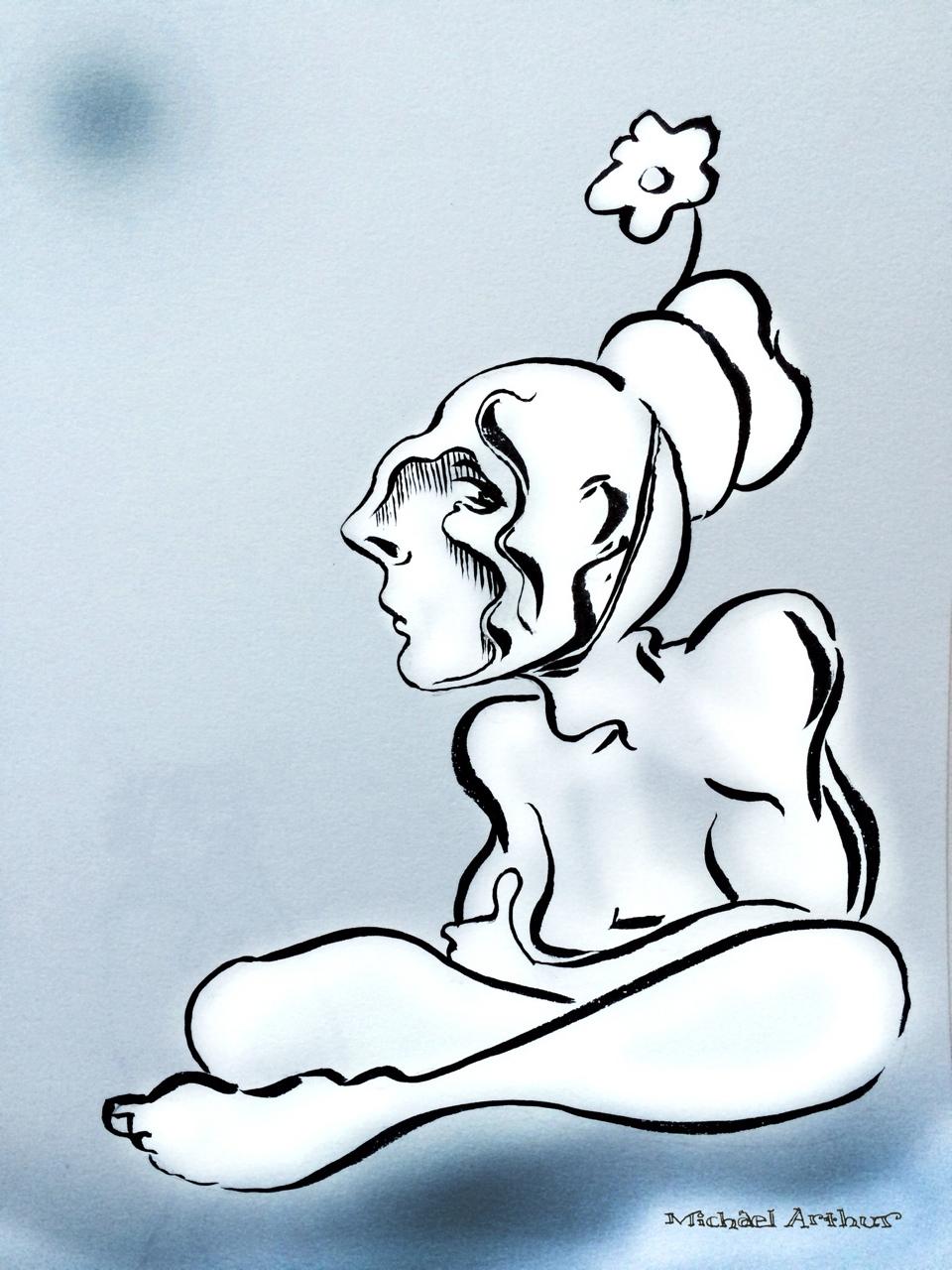 Sketchbook: The Flower Boy.
