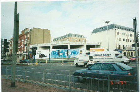 A familiar sight in the mid to late 90's opposite The Royal Pavillion, Brighton