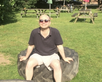 Tim Robson basks in the warmth of July and self-love and a big tyre.
