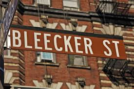 """Hey Buddy; take me to Bleecker Street."""