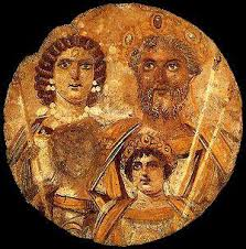 Septimius with Caracalla and Geta