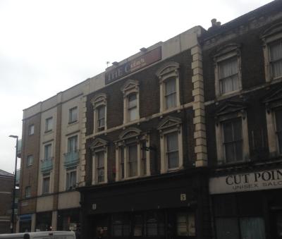 Old pub. Closed Down. Lavender Hill.