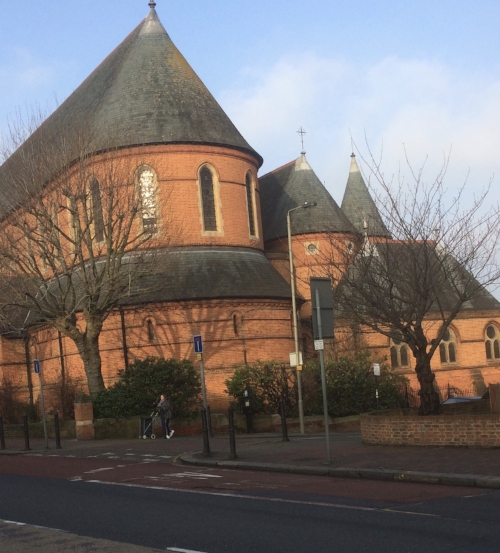 French / Byzantine architecture meets Victorian brick shit-house, muscular Anglicanism.
