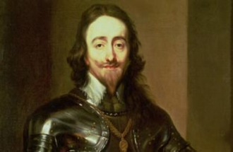 I'm sure I saw hipster Charles I on a scooter in Clapham this week.