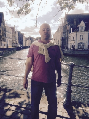 Tim Robson. In Bruges. Mick Taylor not pictured.