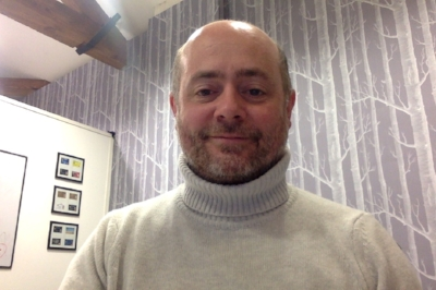 Is it just me or am I getting more distinguished looking? Tim Robson, polo neck. Class.