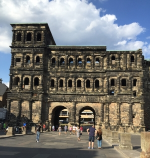 The Porta Nigra, the Roman Gate at Trier