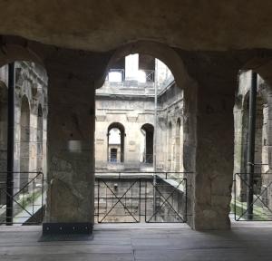 Inside the Porta Nigra