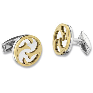 Stainless Steel Cuff Links with Immerse Plating $145.00.jpg