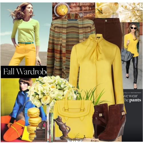 yellow fall style