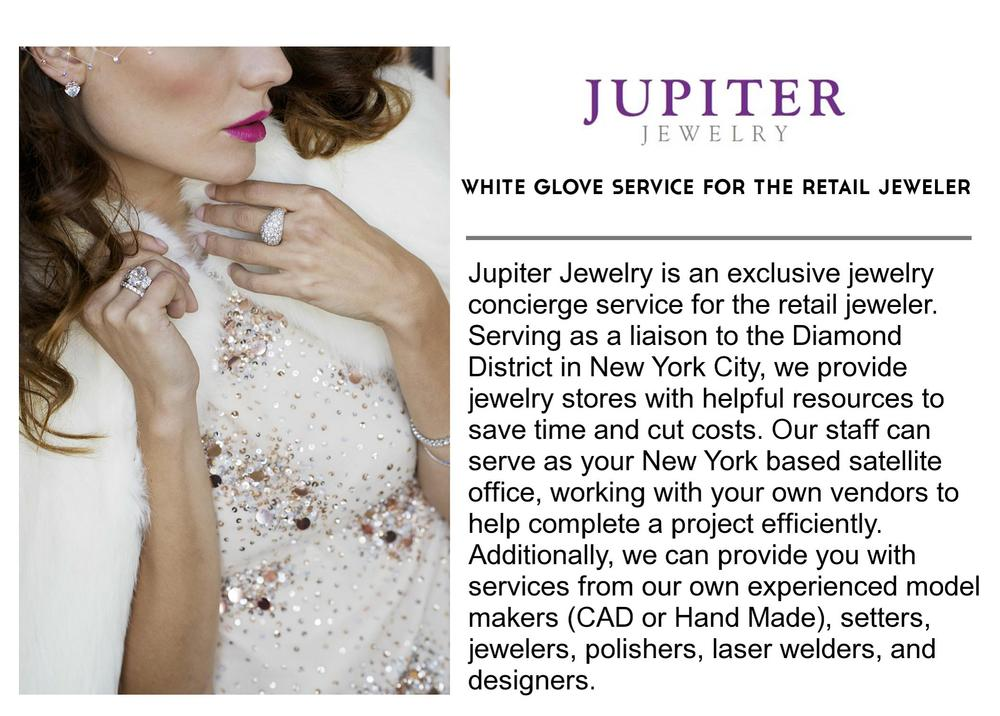 For more information |info@jupiterjewelry.com