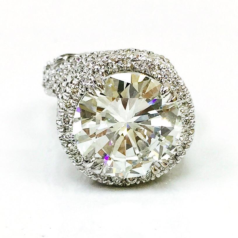 Citra Diamond engagement ring