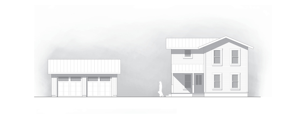 1,300 SF idea home for Habitat for Humanity
