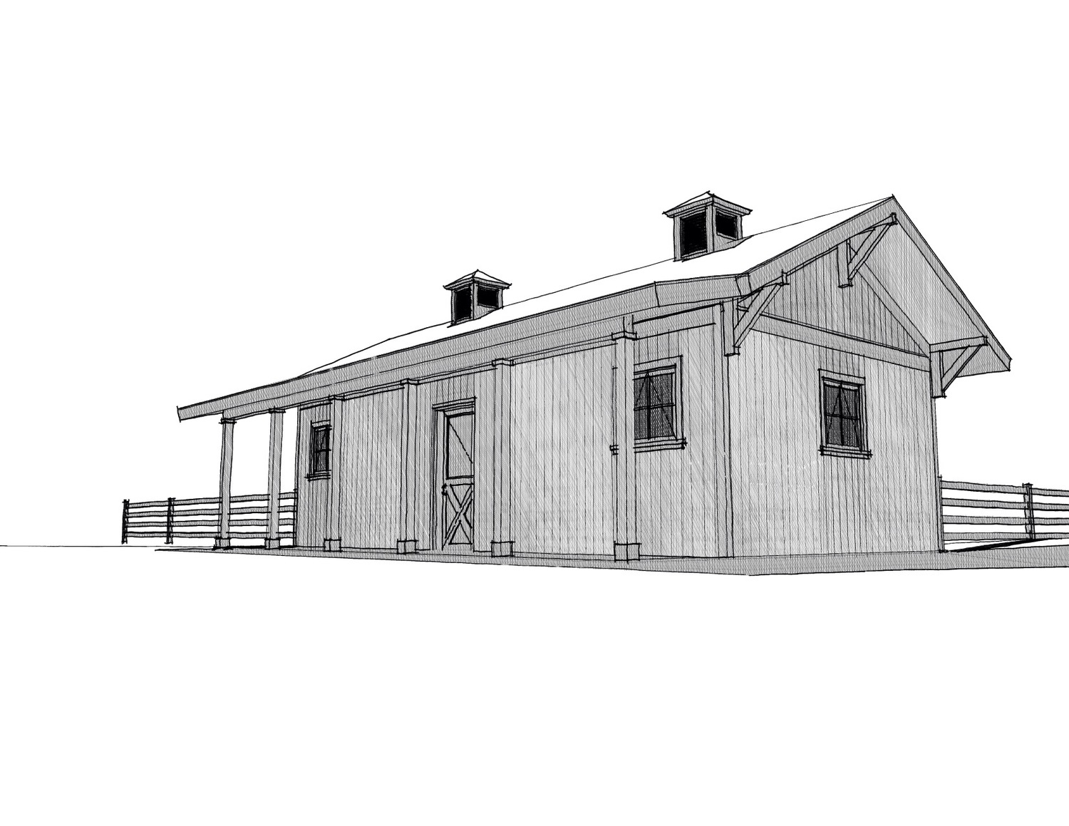 Current project: small, country home... — Heritage Design Build, LLC