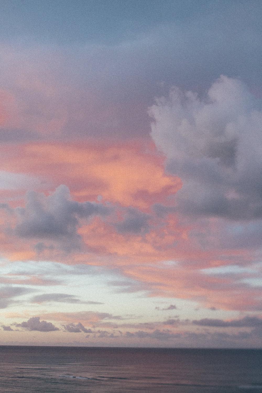 This morning's sunrise - 11/13/18  Honolulu, HI