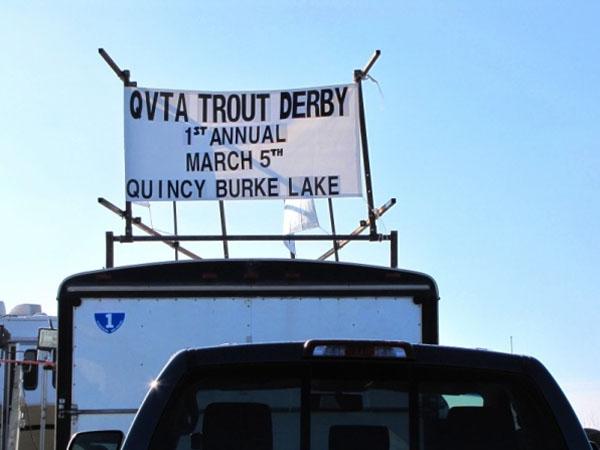 QVTA Trout Derby banner