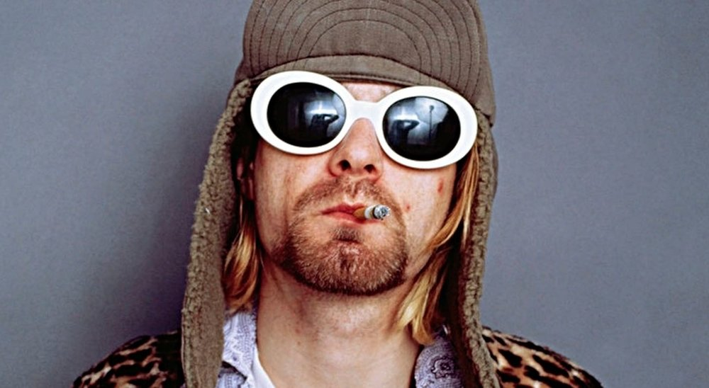 Photo of Kurt Cobain, Courtesy of  Alternative Nation .