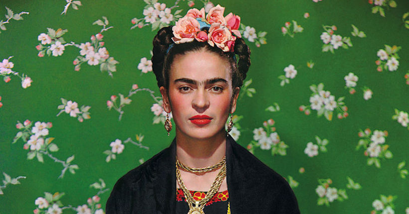Freida Kahlo; Image courtesy of Vogue.com.