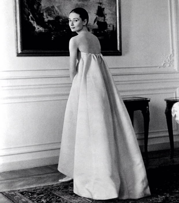 Audrey Hepburn in Givenchy. Image courtesy of Offbeat Ombre.