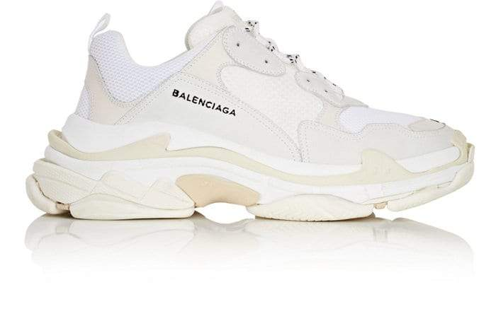 The Balenciaga Triple S via Royal Culture.