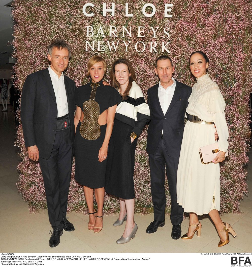 At a Chloe and Barneys New York Event with Chloe Sevigny. Image: Pinterest.