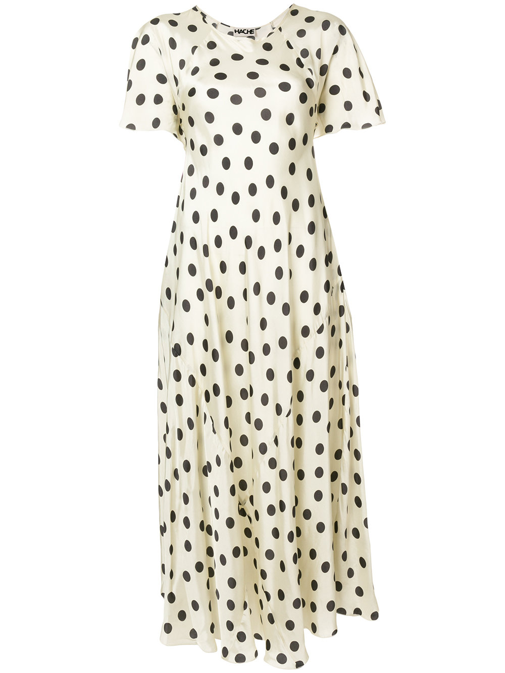 Hache polka dot dress.