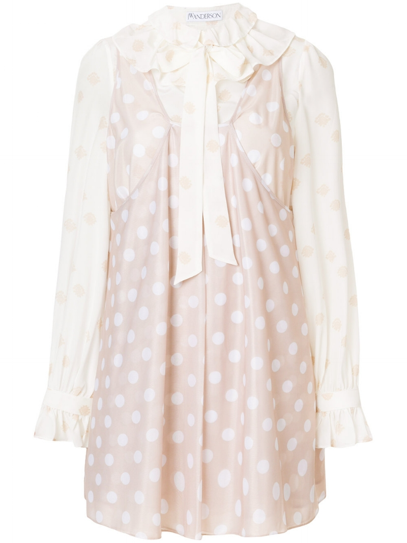 JW Anderson  baby doll dress via  Farfetch .