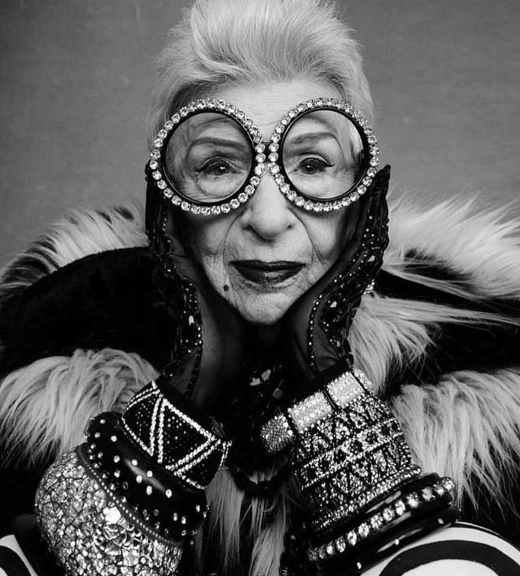 Iris Apfel via Pinterest.