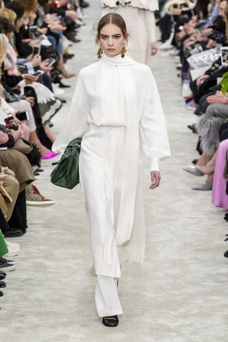 Fall whites from  Valentino .