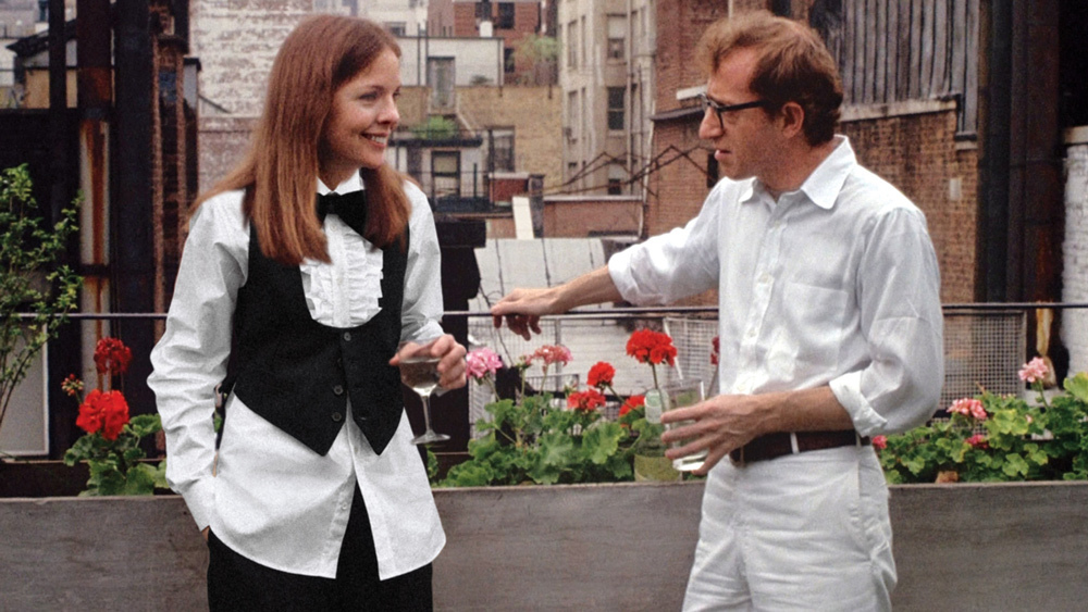 Ralph Lauren costumes in Annie Hall; image via Variety.