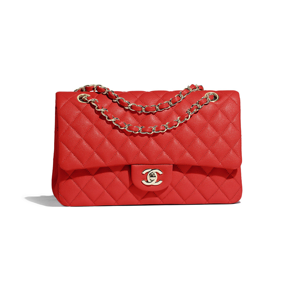 Chanel Classic Handbag; image via Chanel.