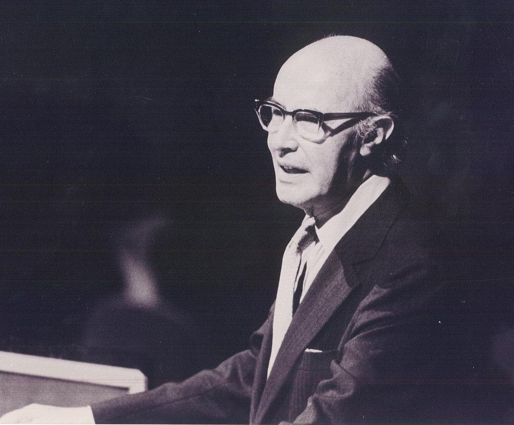 Ambassador Emeritus Alfonso García Robles, Nobel Peace Prize (1982) / Photo Credit: OPANAL
