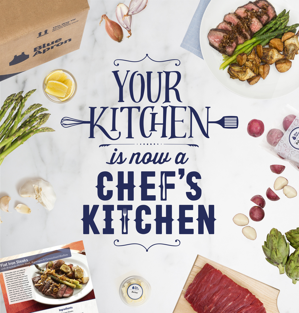 Blue apron quality - Utilizing Blue Aprons Pre Portioned Ingredients And Chef Quality Recipes We Blended The Two Together To Make Some Mouth Watering Ooh
