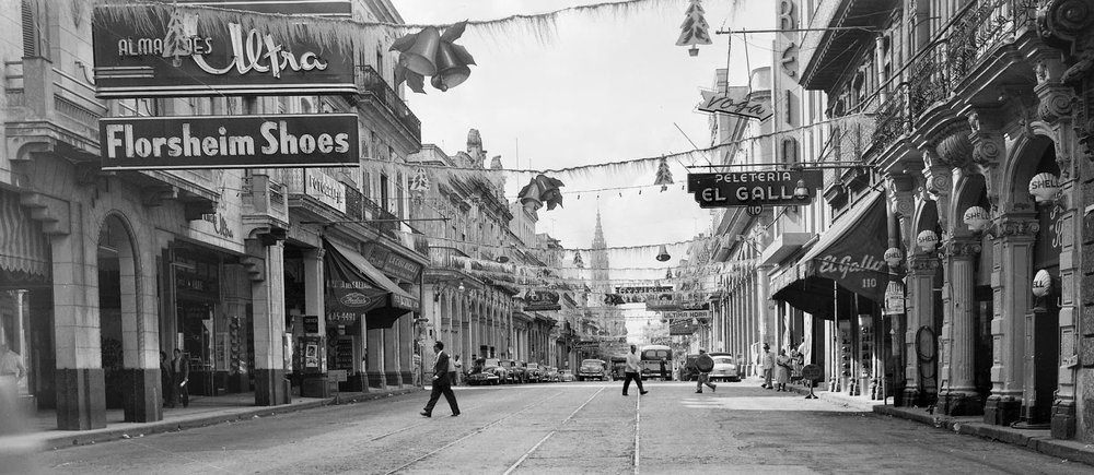 La Habana en Navidad, 1950s