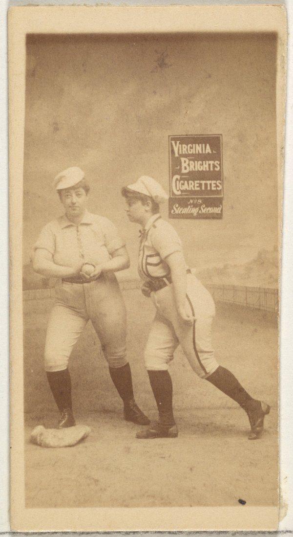 Virginia Brights Cigarettes No. 8 Stealing Second.jpg