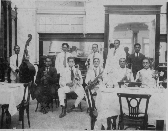 Musicians, Havana, early twentieth century. Historical Photographs from Cuba Curated by Tom Pohrt   Michigan Quarterly Review    Volume XLIV ,  Issue 4 : The Documentary Imagination (Part One), Fall 2005.