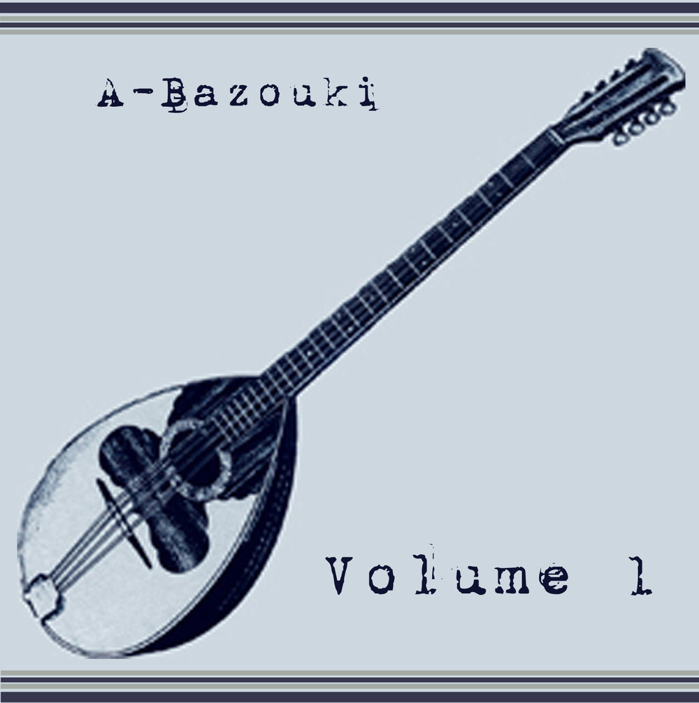 """A-BAZOUKI VOLUME 1 (UN-GYVE RECORDS). Twelve original tracks by A-Bazouki, multi-instrumentalist (violin, mandolin, ukulele, piano) J. Nemrow and L. A. Nemrow (harmonica, vocals)—""""nothing promised that is not performed."""" (PRNewsFoto/UN-GYVE LIMITED)"""