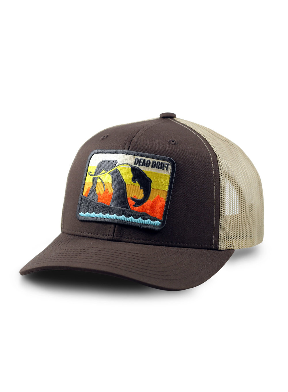 Hats and tubes dead drift for Fly fishing trucker hat