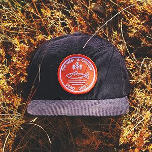 a148043a93137 Dead Drift Fly Calling Corduroy Dead Drift Fly Fishing Calling Hat 1.jpg