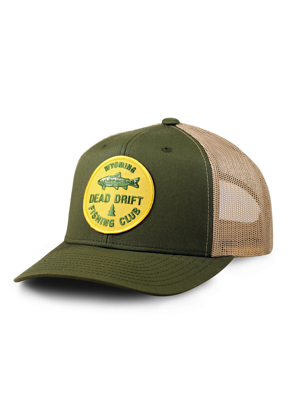 Hats and tubes dead drift for Fly fishing cap
