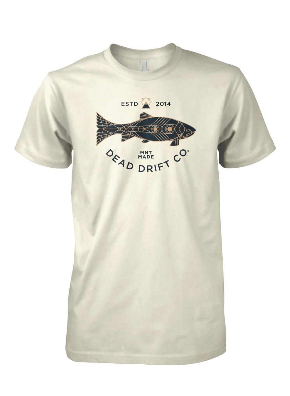 Dead drift fly deco trout dead drift for Fly fishing hoodie