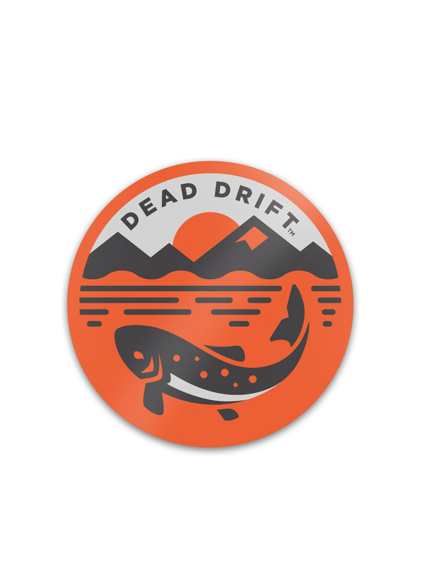Sticker Pack   A 2019_SS_Dead Drift Fly Fishing Stickers Surface