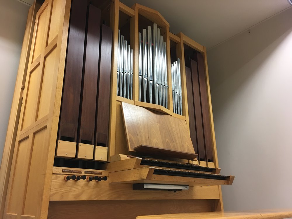 2 practice rooms with identical Visser-Rowland Mechanical Action Organs