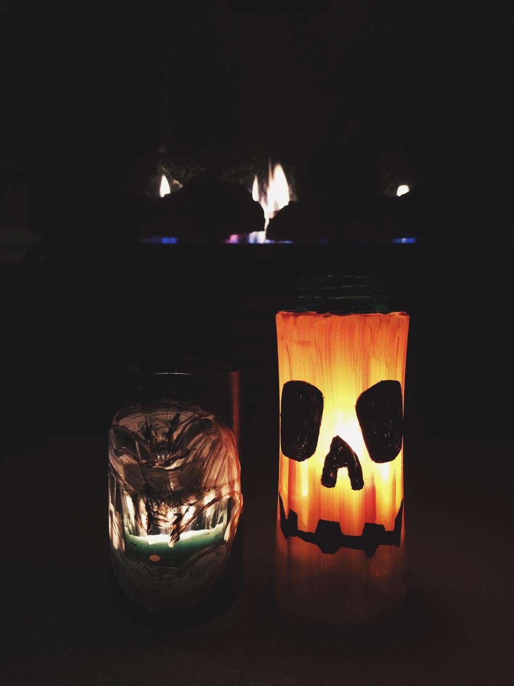 Halloween lanterns!
